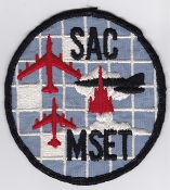 USAF Patch Bomb SAC Strategic Air Command v MSET B 58 AGM 28 a