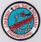 USAF Patch Bomb SAC Strategic Air Command v Aircraft Engineering