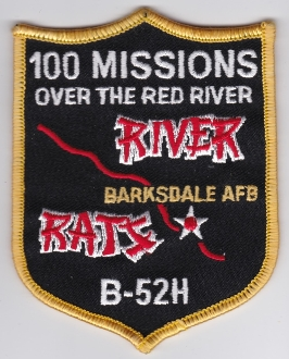 USAF Patch Bomb 93 BW Wing B 52 Combat Crew Training 100 Mission