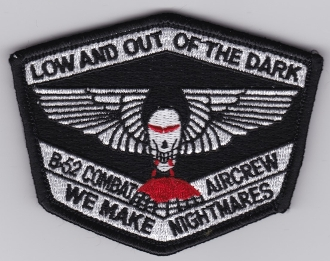 USAF Patch Bomb 93 BW Wing B 52 Combat Crew Training Aircrew