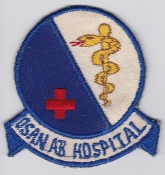 USAF Patch Fighter 6314 SW Support Wing Osan AB Hospital 314 AD