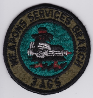 USAF Patch Fighter PAC 3 TFW u AGS Weapons Services Branch F 4
