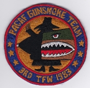 USAF Patch Fighter PAC 3 TFW x Exercise Gunsmoke Team 1983 F 4