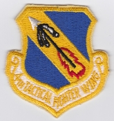USAF Patch Fighter 4 TFW Tactical Ftr Wing F 4 Phantom II c