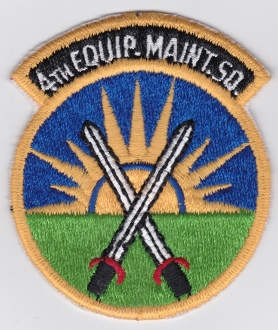 USAF Patch Fighter 4 TFW Tactical Ftr Wing F 4 u EMS Equipment