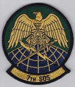USAF Patch Spec Ops USAFE 7 SOS Special Operations Sq p CV 22 La