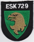 RDAF Patch Royal Danish Air Force 729 Esk Squadron Patch Draken