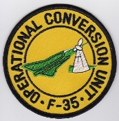 RDAF Patch Royal Danish Air Force F 35 Draken OCU Conversion