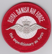 RDAF Patch Royal Danish Air Force 726 Esk Squadron Expeditionary