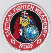 RDAF Patch Royal Danish Air Force 730 Esk Squadron TFW 1999