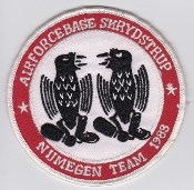 RDAF Patch Royal Danish Air Force 730 Esk Squadron Nijmegen 1983