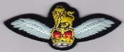 Army Air Corps AAC Patch Pilot Qualification Wing 2