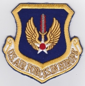 USAFE Patches US Air Force Europe