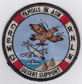 RNLNAS Patch Netherlands Naval Aviation 320 Squadron Crew 12 P 3