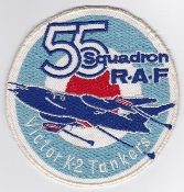 RAF Patch j 55 Squadron Royal Air Force Victor K2 Tanker a