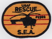 USAF Vietnam Patches
