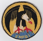 German Navy Patch Marinefliegergeschwader MFG 1 F 104 Squadron 2