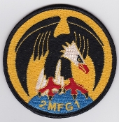 German Navy Patch Marinefliegergeschwader MFG 1 IDS Squadron 2