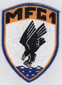 German Navy Patch Marinefliegergeschwader MFG 1 F 104 b