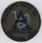 USAF Patch Fighter Vietnam 3 TFW Security Police Sqn Bien Hao