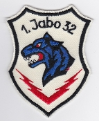 German Air Force Patch 32 Jabog Tornado 321 Sqn Lechfeld Panther