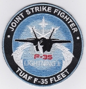 Turkish Air Force Dev Patch Joint Strike Fighter F 35 TUAF Fleet