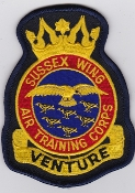 RAF Patch ATC R Wing Sussex Air Training Corps Air Cadet Crest