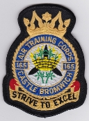 RAF Patch ATC Squadron 165 Castle Bromwich Air Training Corps