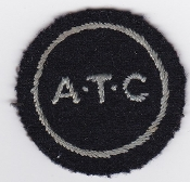 RAF Patch ATC WWII Air Training Corps Arm disc