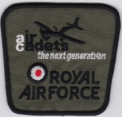 RAF Patch ATC Air Cadets The Next Generation Air Training Corps
