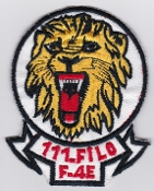Turkish Air Force Squadron Patch TUAF 111 Filo F 4E Phantom Lion