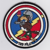 Turkish Air Force Squadron Patch 133 Filo F 16 Fighting Falcon