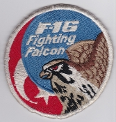 Turkish Air Force Squadron Patch TUAF F 16 Fighting Falcon