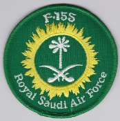 RSAF Patch da Sqn Royal Saudi Air Force 6 Squadron F 15S a