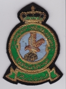 RSAF Patch da Sqn Royal Saudi Air Force 16 Squadron Crest Wire