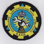 RSAF Patch Tech Royal Saudi Air Force KAAB Maitenance Dhahran