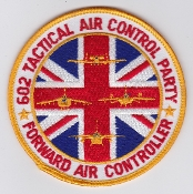 British Army FAC Patch Forward Air Controller 602 TACP Gulf War