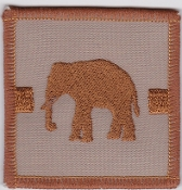 RAF Patch j 27 Squadron Royal Air Force Elephant Chinook Desert