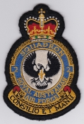 RAAF Patch Sqn Royal Australian Air Force 2 Squadron Crest E 7A