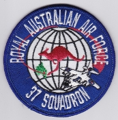 RAAF Patch Sqn Royal Australian Air Force b 37 Squadron C 130 a