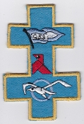 French Air Force ALA Patch Reconnaissance ER 2 33 Savoie Mirage