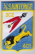 French Air Force ALA Patch ETO 1 8 Esc Transition Operationnelle