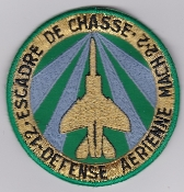 French Air Force ALA Patch Ftr Esc De Chasse EC 12 Mirage F1