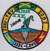 French Air Force ALA Op Patch Alysse 2001 Elec CDVE Saudi Made