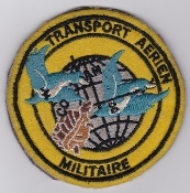 French Air Force ALA Cmd Patch Transport Aerien Militaire TAM