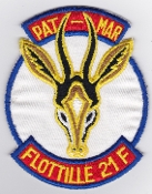 French Naval Aviation Aeronavale Patch 21 F Flotille Pat Mar