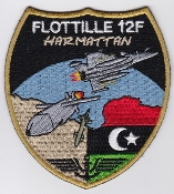 French Naval Aviation Aeronavale Patch 12 F Flotille Harmattan