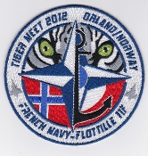 French Naval Aviation Aeronavale Patch 11 F Flotille Tiger Meet