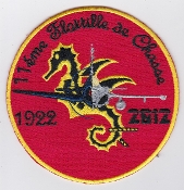 French Naval Aviation Aeronavale Patch 11 F Flotille 90 Years