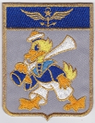 French Naval Aviation Aeronavale Patch 12 F Flotille Shield